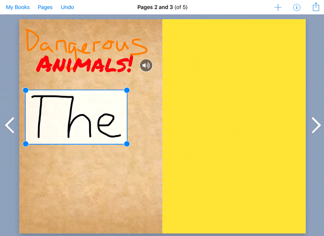 book creator pen feature