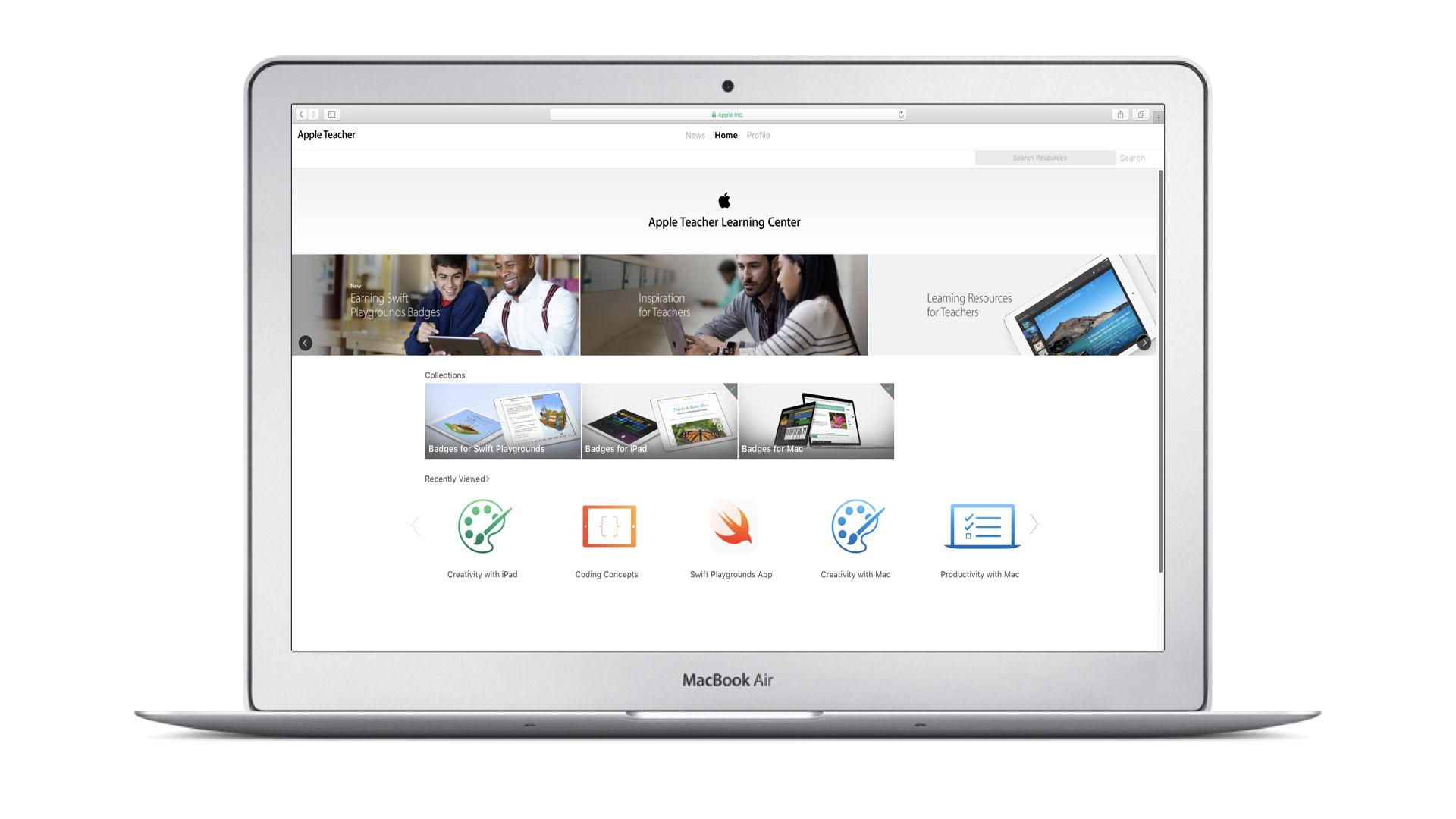 Apple Macbook for education